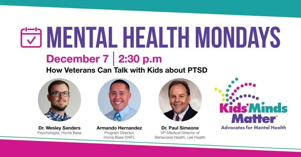 Mental Health Mondays - December 7 Event