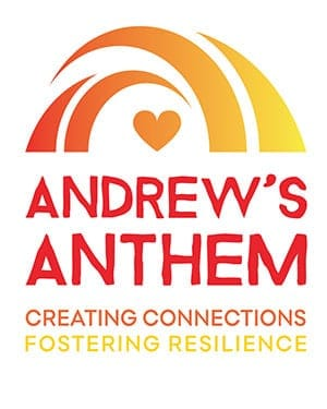 Andrew's Anthem Creating Connections Fostering Resilience logo