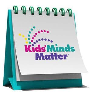 Kids' Minds Matter desk calendar