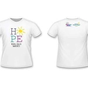 Kids' Minds Matter Mental Health Awareness HOPE T-shirt