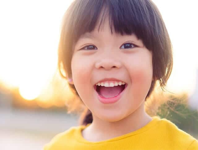 Kids' Minds Matter advocates for young girls like this young Asian child