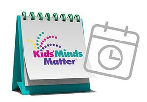 Kids' Minds Matter classes calendar icon