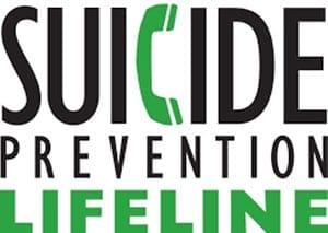 Suicide Prevention Lifeline logo
