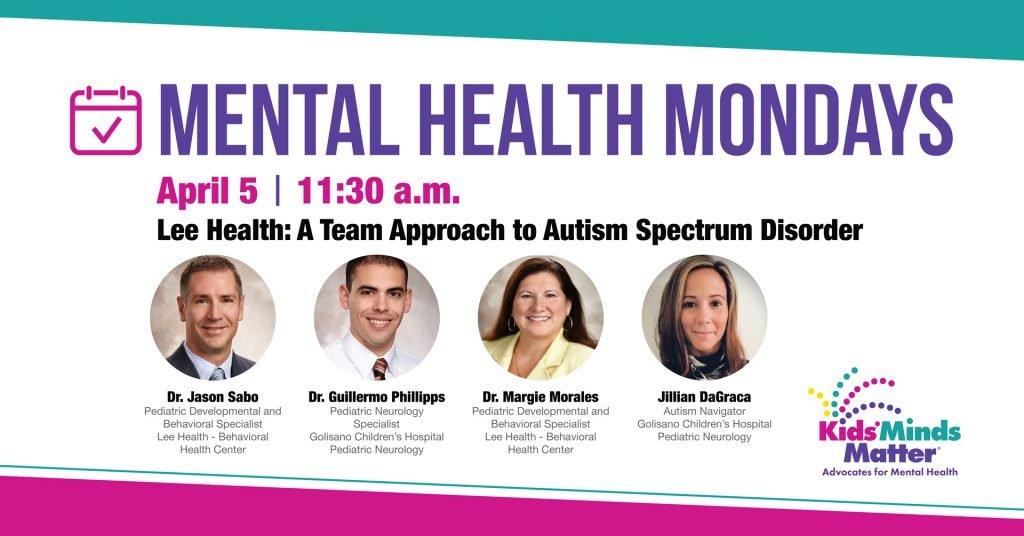 Mental Health Mondays April 5 Event Graphic